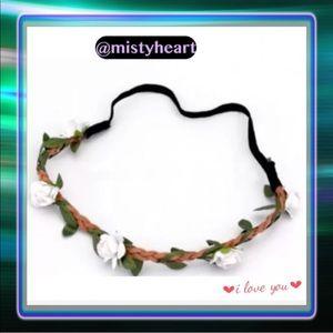 Accessories - Flower Garland Headband